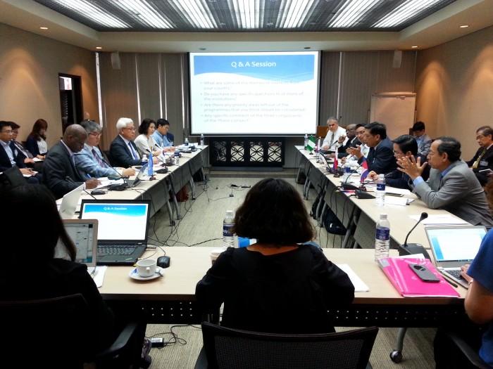 29일 태국 방콕 유엔경제사회이사회(UNESCAP) 컨퍼런스 홀에서 개최된 '한-유엔개발계획(UNDP) 2단계 사업 워크숍